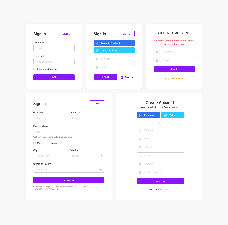 Bootstrap ecommerce Free responsive HTML5 Bootstrap Ecommerce UI Kit