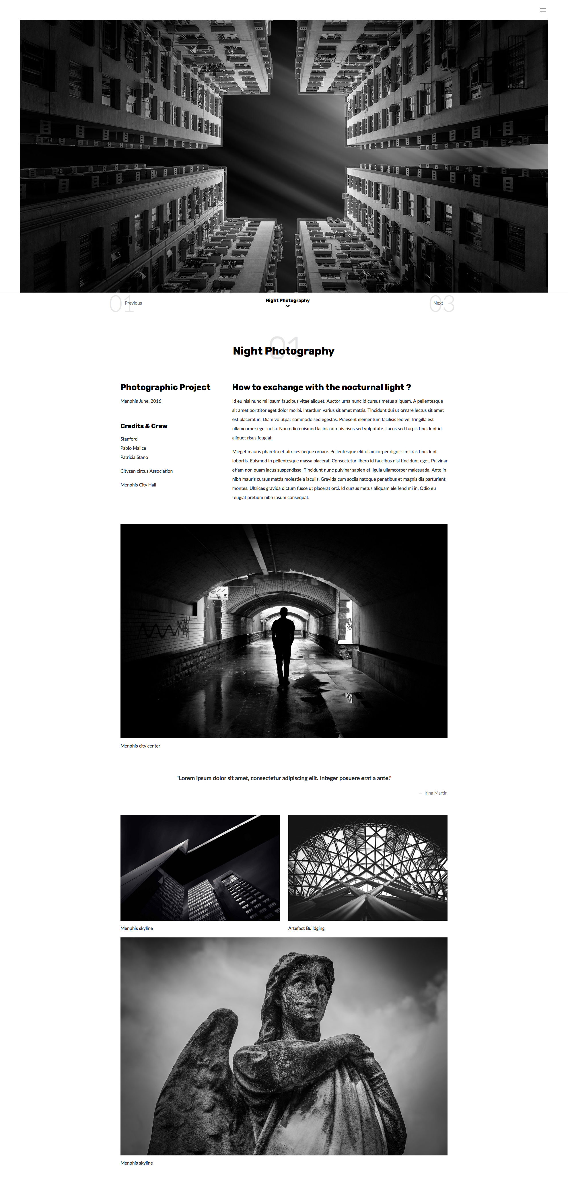 Complex HTML template is simple and efficient HTML5 Photography Template. It suits to any kind of business, especially for photographers to showcase their photography portfolio. This website template is uses HTML5 and CSS3 web technologies, fully responsive and built with Bootstrap Responsive CSS Grid System.