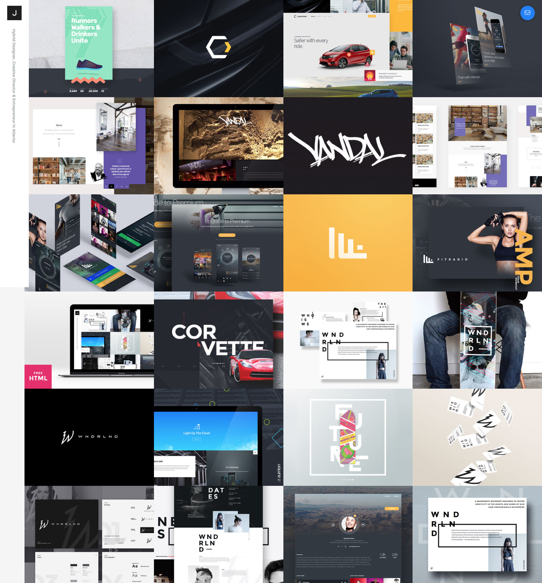 Dribbble Feed Portfolio is a free responsive HTML5 one-page website template based on the popular Bootstrap 3. It is an ideal template for creatives who want to showcase their work with simple way.