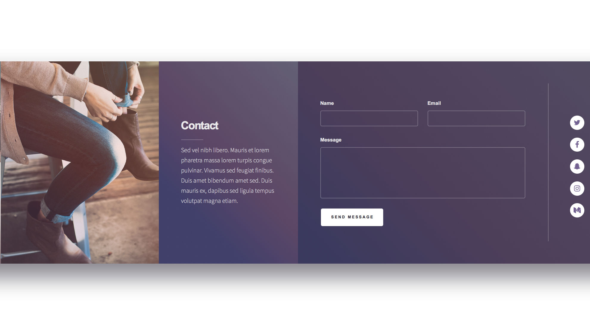Ethereal Free responsive HTML5 Personal template - HTMLTEMPLATES CO