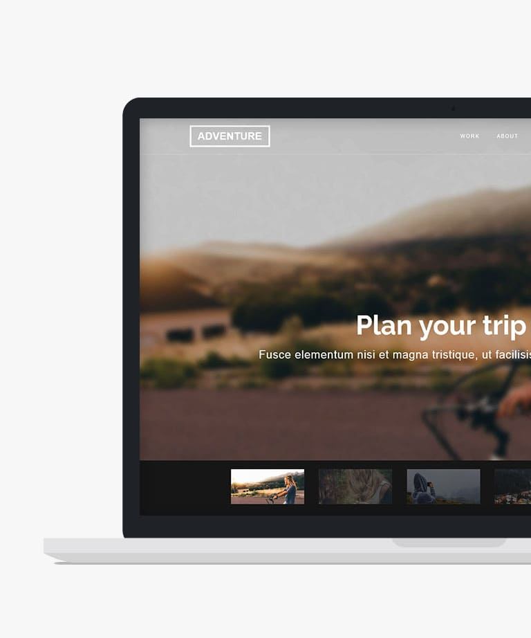 Adventure Free responsive HTML5 Bootstrap template