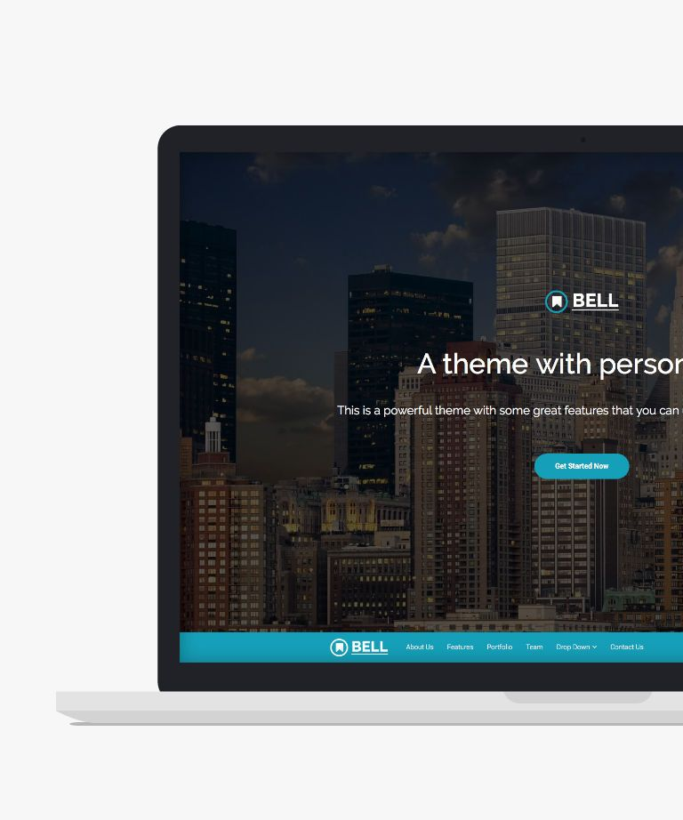 Bell Free responsive HTML5 Bootstrap Business template