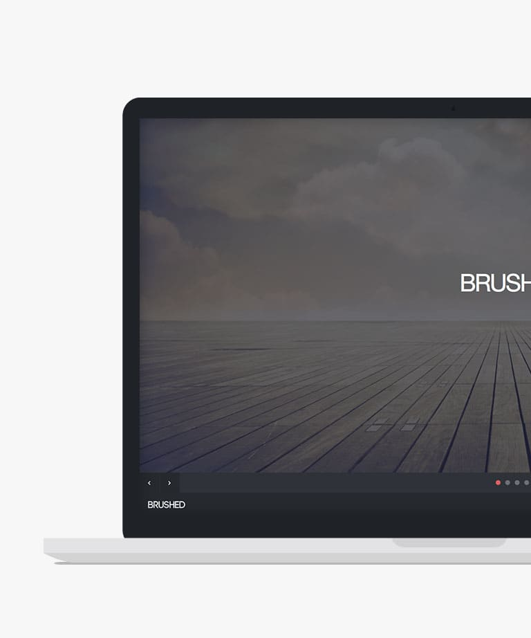 Brushed Free responsive HTML5 Bootstrap template