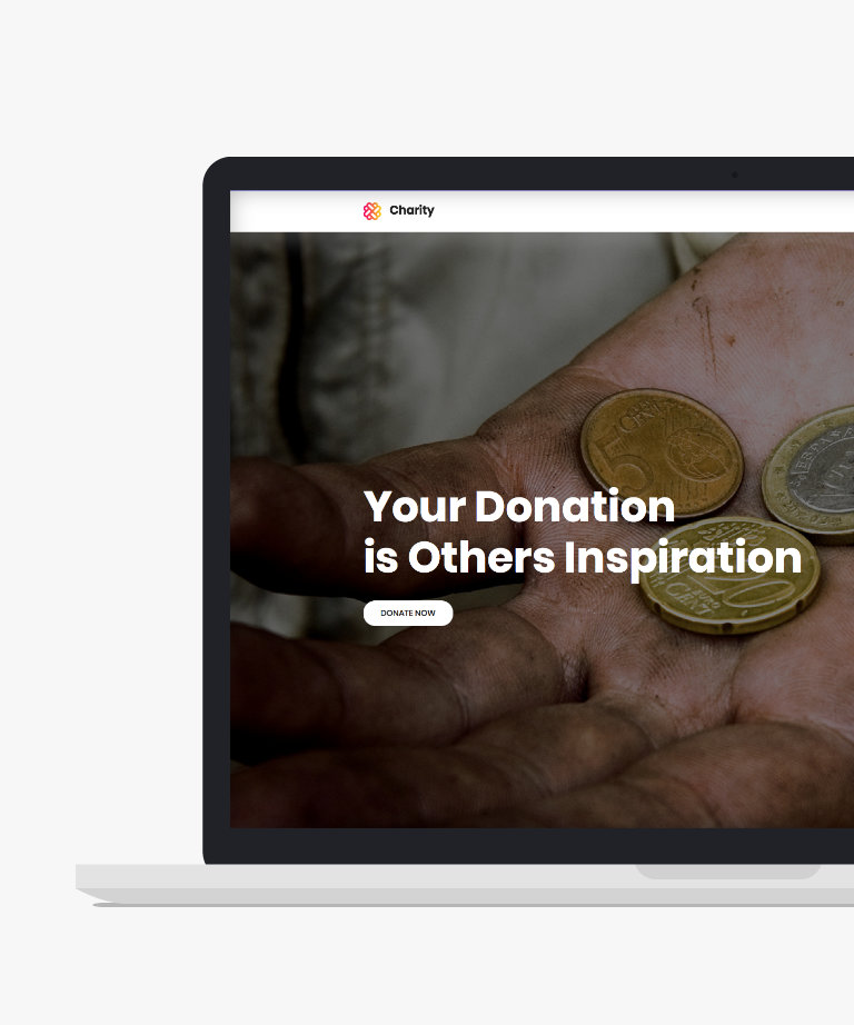 Charity Free responsive HTML5 Bootstrap Donation template