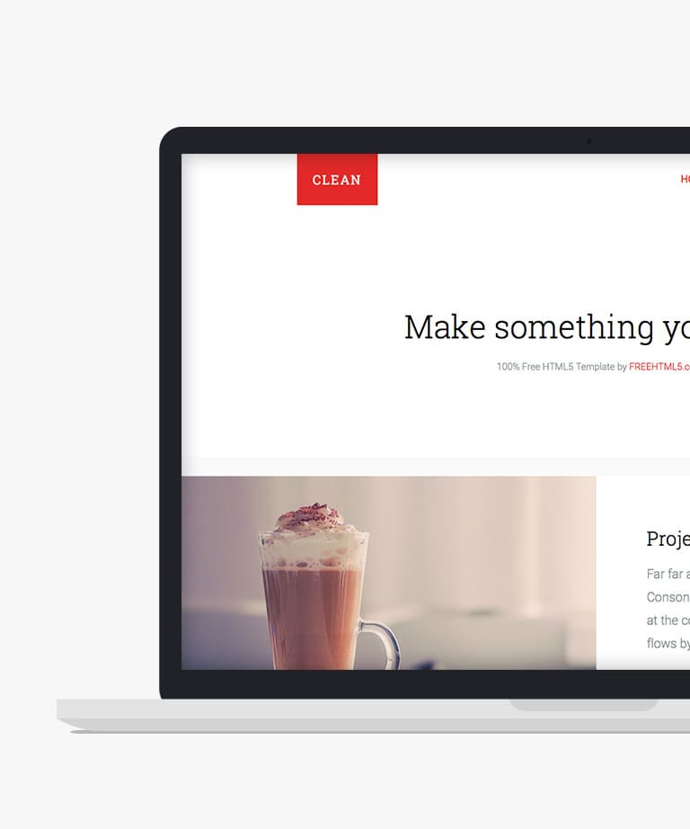 Clean Free responsive HTML5 Bootstrap Multipurpose template