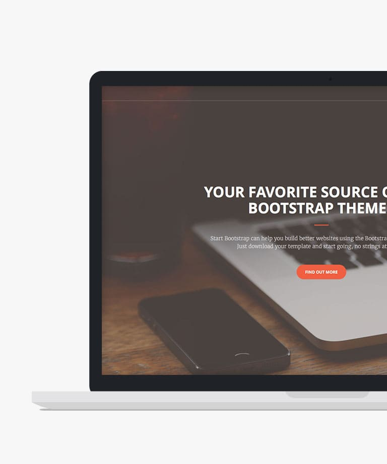 Creative Free responsive HTML5 Bootstrap template