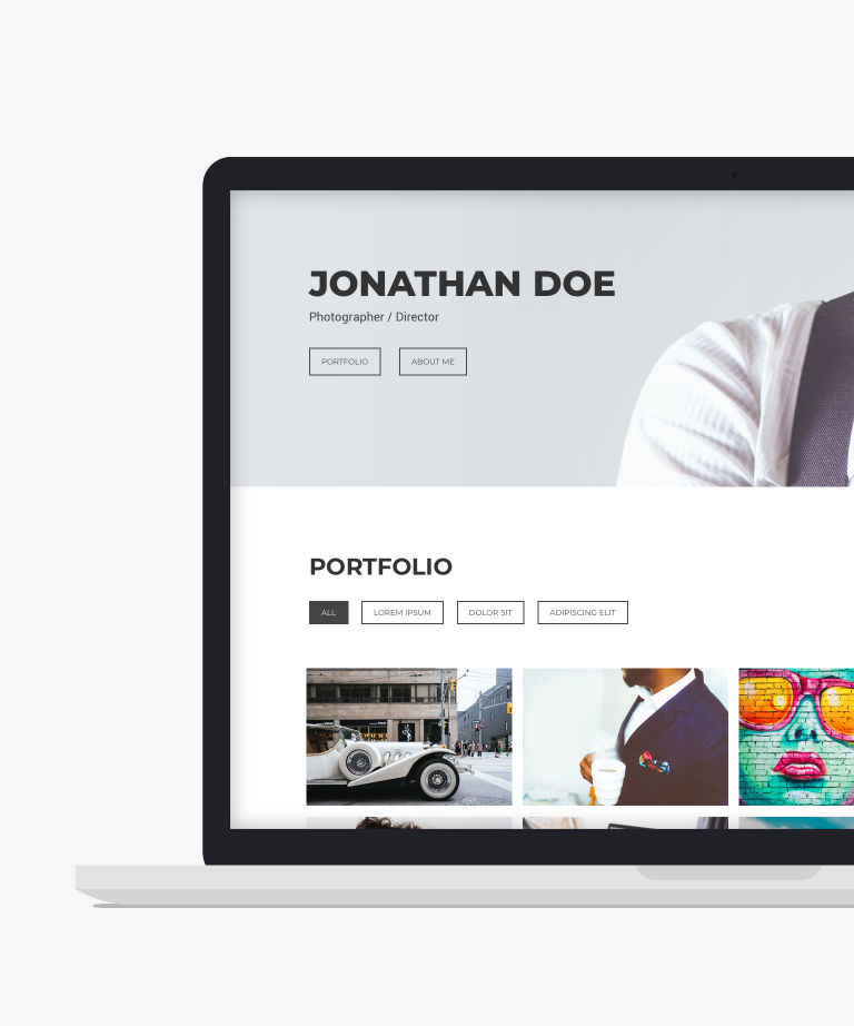 Free Photography Website Templates - HTMLTEMPLATES.CO