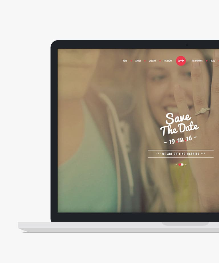 FOREVER Responsive HTML5 Bootstrap Wedding template
