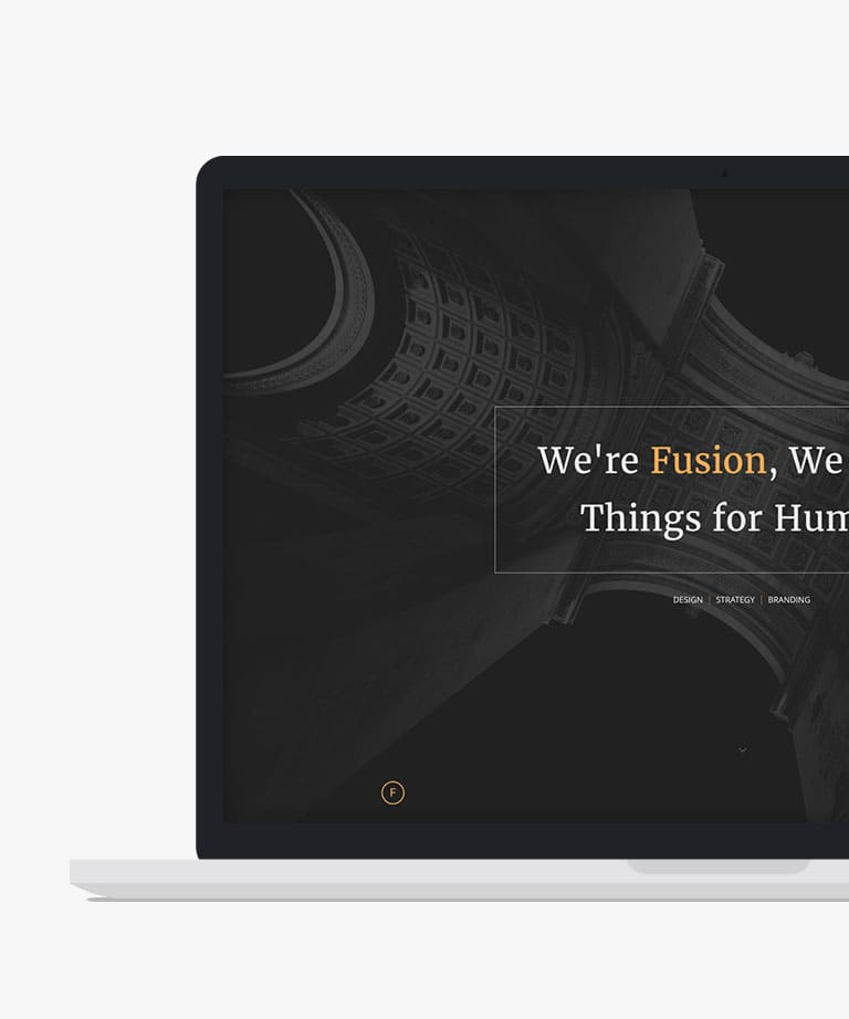 Fusion Free responsive HTML5 Bootstrap template
