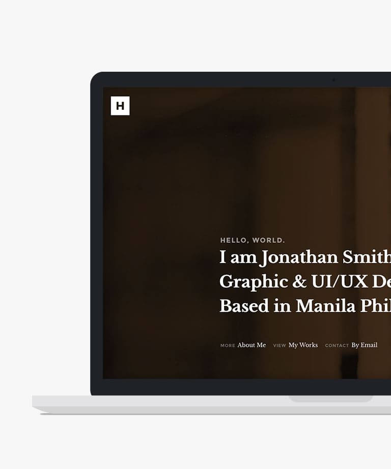 Howdy Free responsive HTML5 Bootstrap Portfolio template
