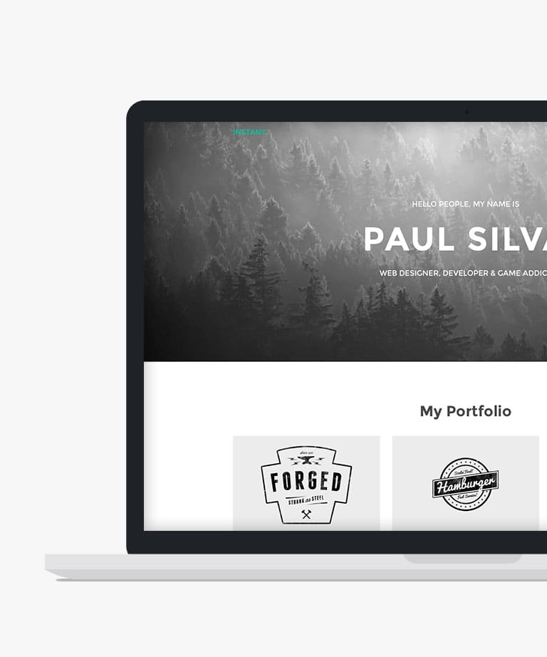 Instant Free responsive HTML5 Bootstrap template
