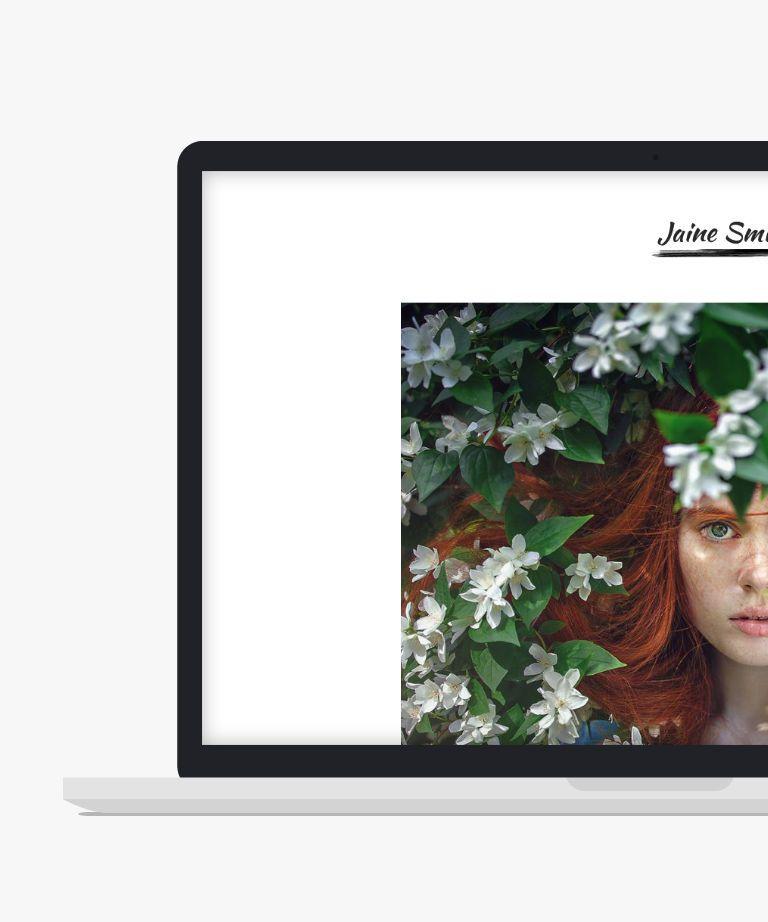 Jaine Free responsive HTML5 Portfolio template
