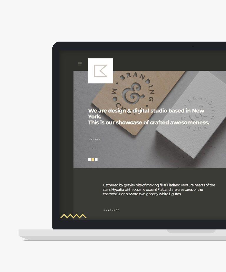 Katt Free responsive HTML5 Portfolio template