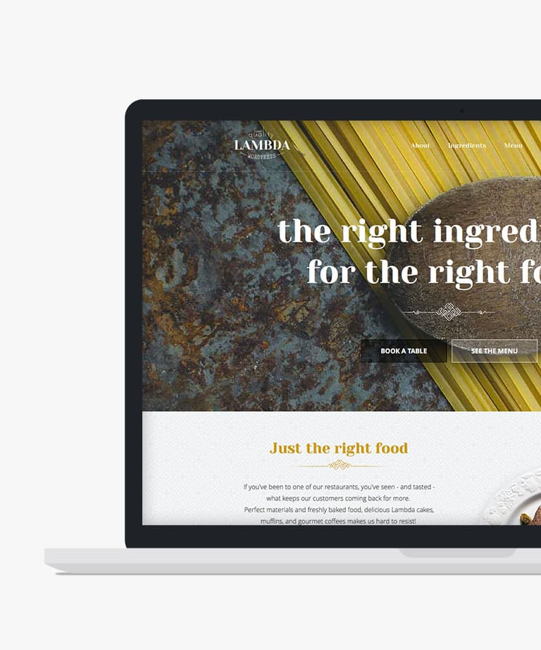 Lambda Free responsive HTML5 template