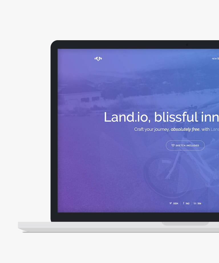 Land.io Free responsive HTML5 Bootstrap template