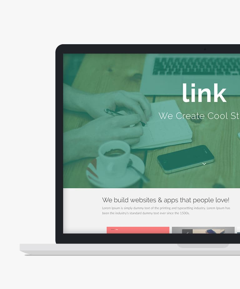 Link Free responsive HTML5 Bootstrap template