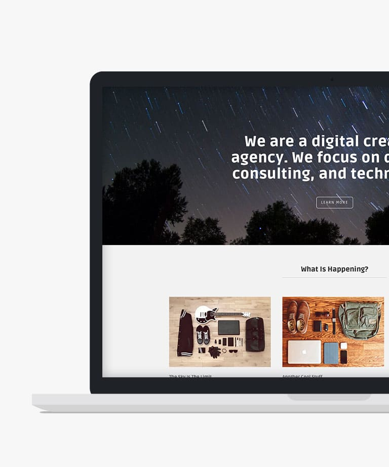 Marco Free responsive HTML5 Bootstrap template