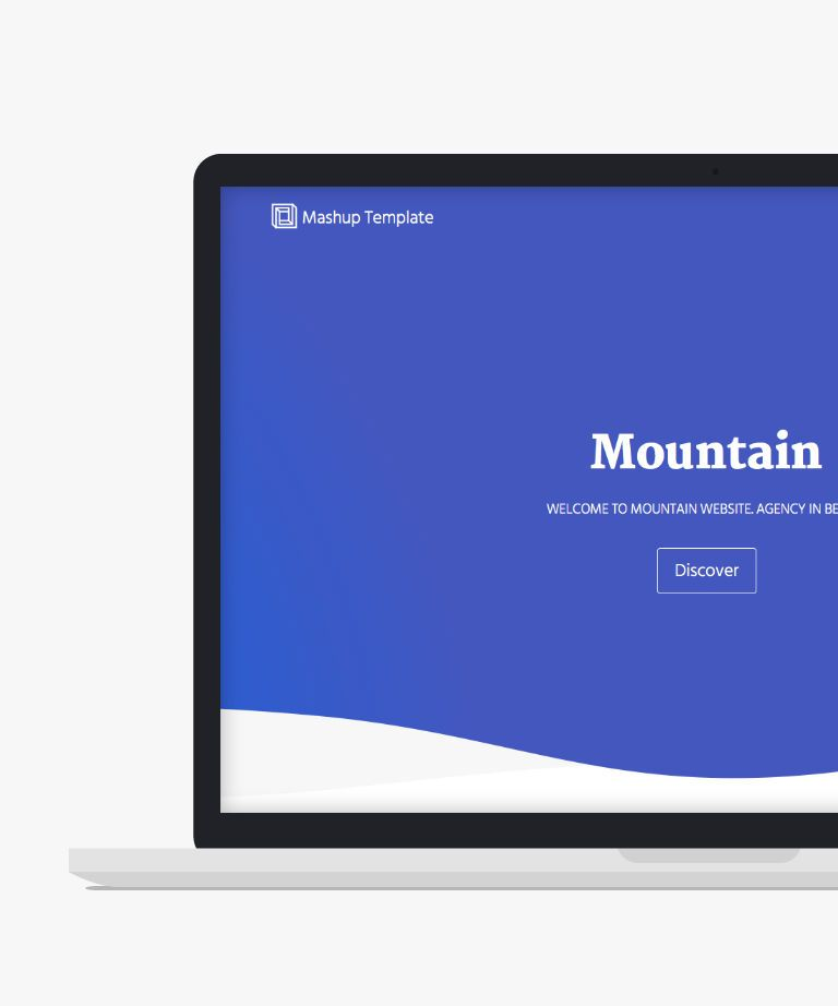 Mountain Free responsive HTML5 Portfolio template