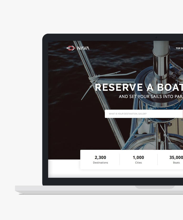 Nava Free responsive HTML5 Bootstrap template