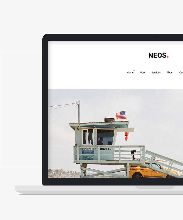 Neos Free responsive HTML5 Bootstrap template
