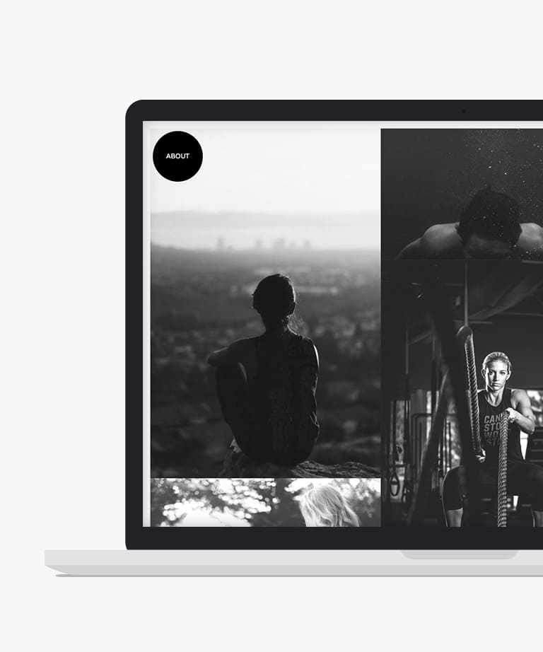 Photo Free responsive HTML5 Bootstrap Masonry template