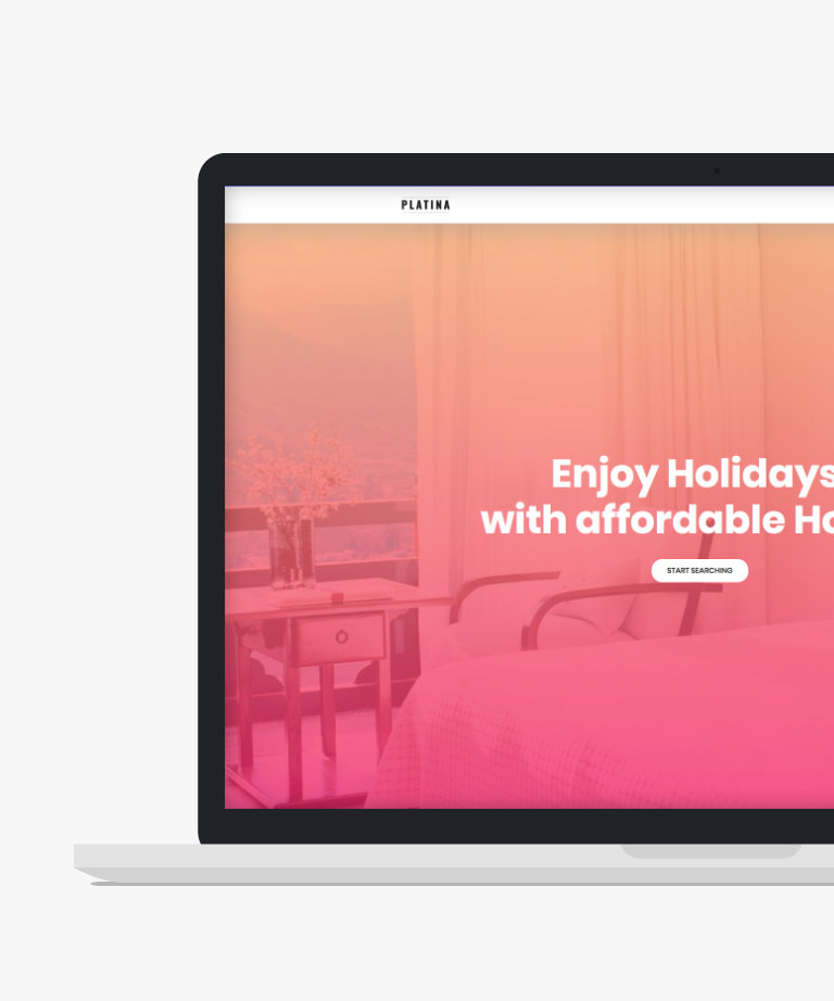 Platina Free responsive HTML5 Bootstrap Travel template