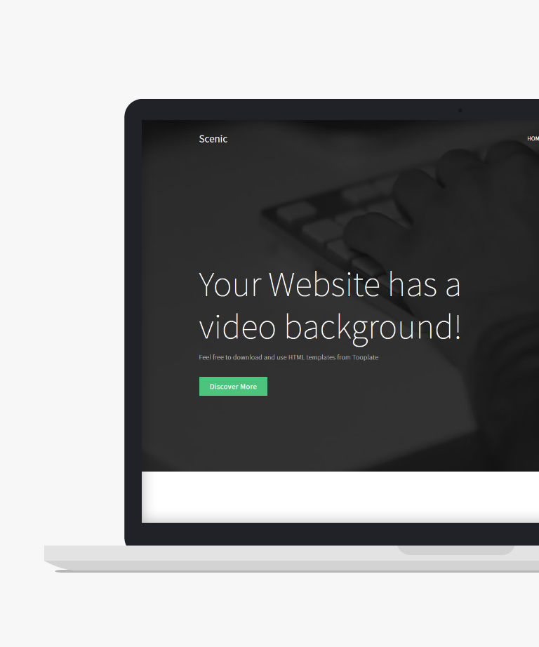 Scenic Free responsive HTML5 Bootstrap Business template