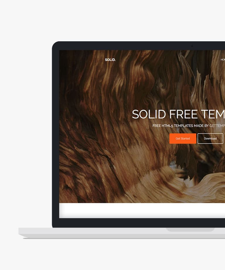 Solid. Free responsive HTML5 Bootstrap template