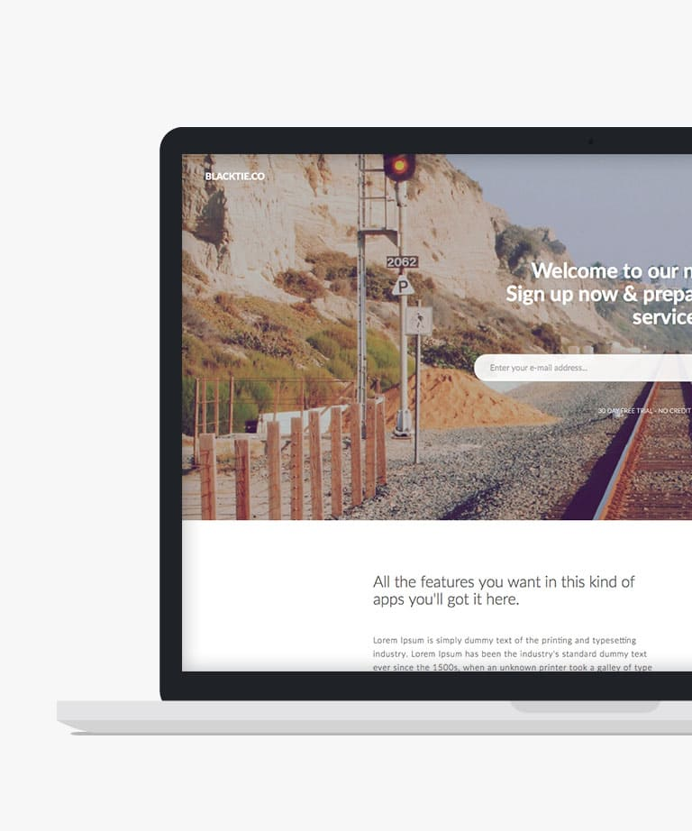 Sumo Landing Free responsive HTML5 Bootstrap template
