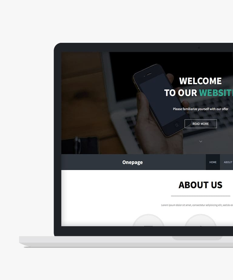 Thomsoon landing Free responsive HTML5 template