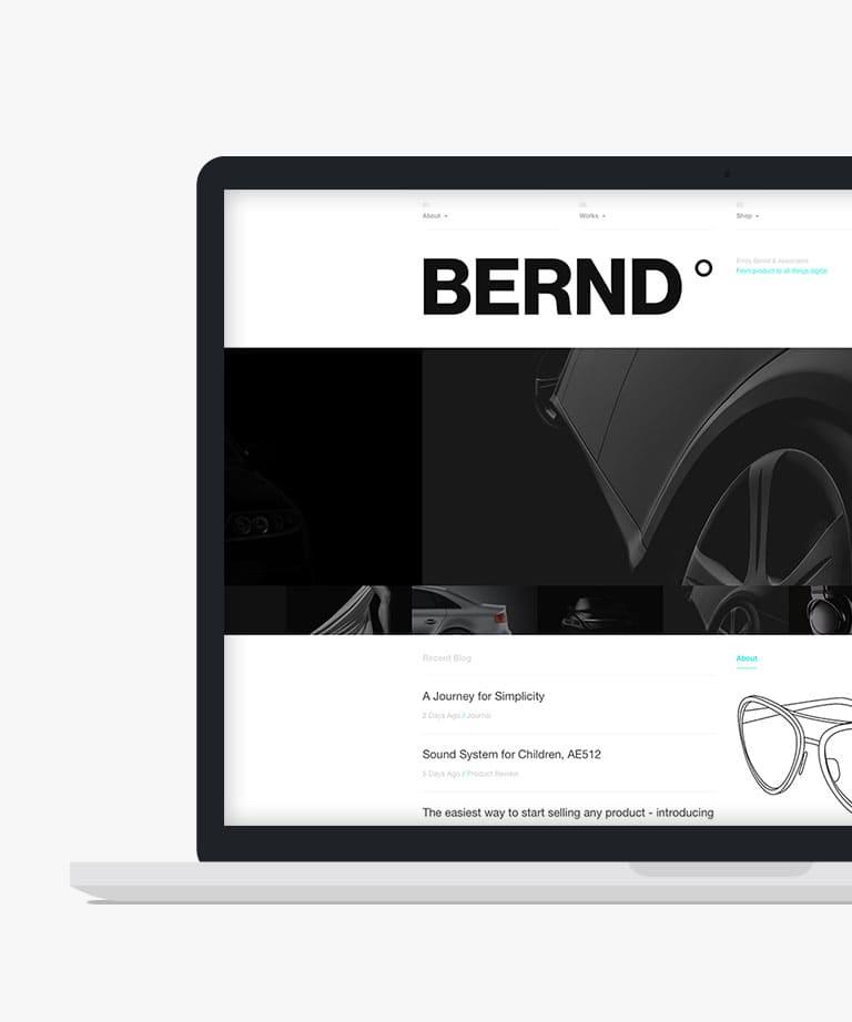Typefolio Free responsive HTML5 Portfolio template