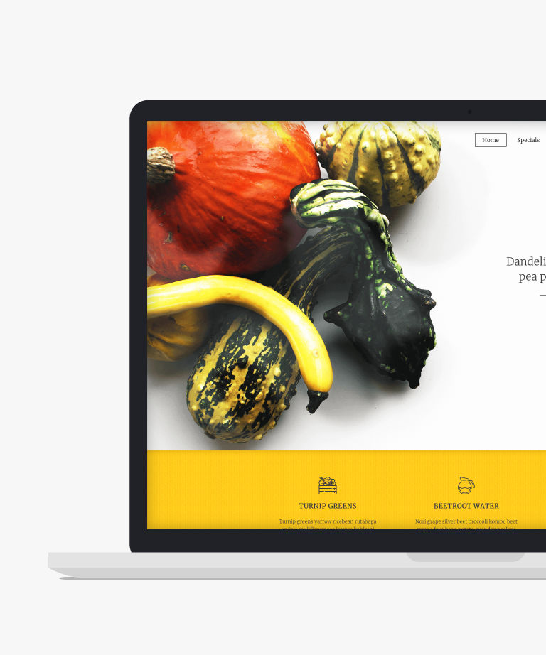 Free Food And Restaurant Website Templates Htmltemplates