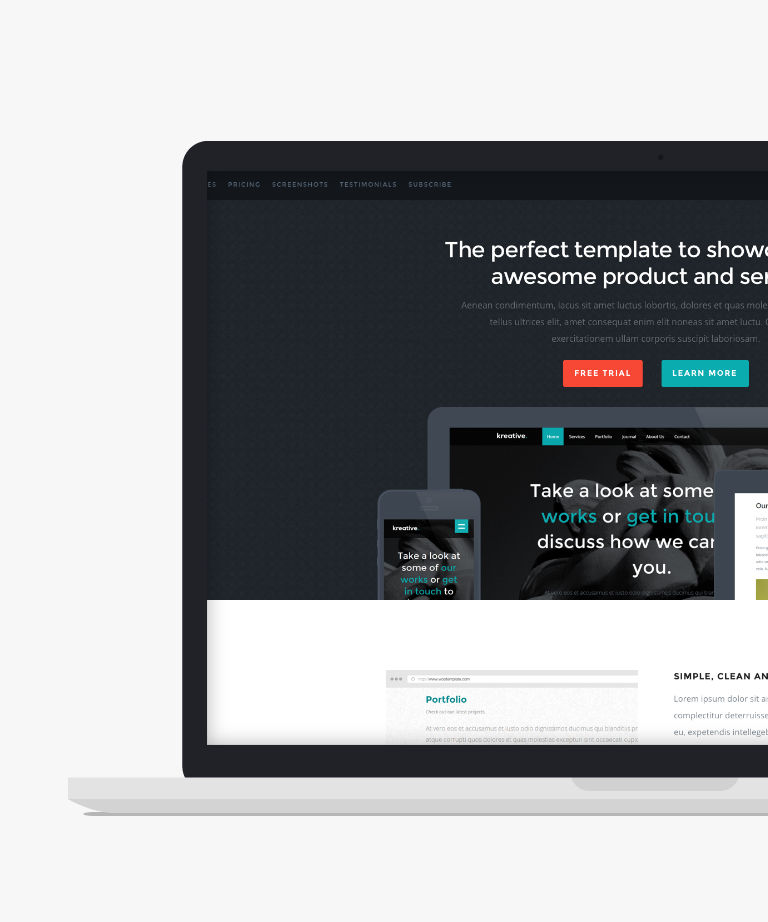 Woo Free responsive HTML5 Product template