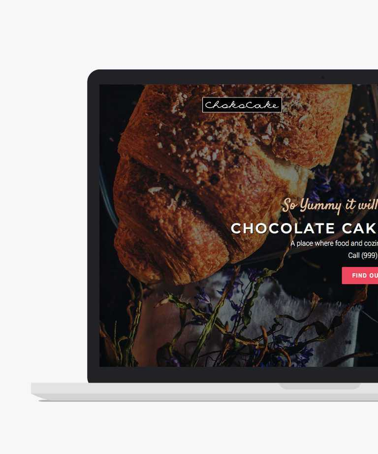 zChocoCake Free responsive HTML5 Bootstrap Restaurant template